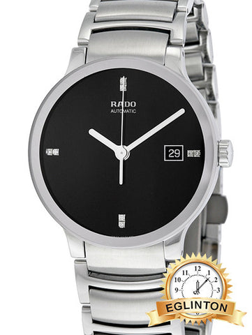 RADO Centrix Jubile Automatic Black Dial Men's Watch W/ Box