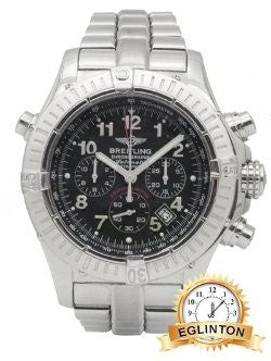 Breitling Models  Chrono Avenger Rattrapante Black Dial limited edition of 25 total pieces
