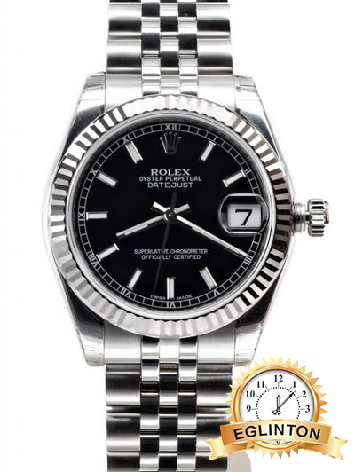 ROLEX DATEJUST 31mm Stainless Steel REF.178274