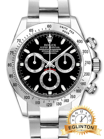"Rolex 2011 Cosmograph Daytona 116520 W/ Box & Papers - Canadian Watch ""SOLD"""