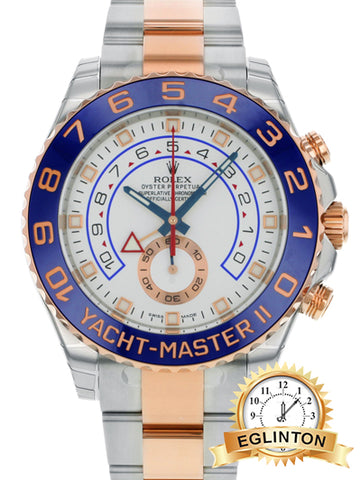 Rolex Yatch-Master II 116681 Two Tone Rose Gold