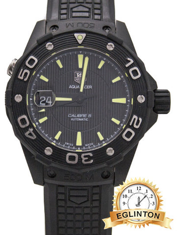 Tag Heuer Aquaracer 500 m Full Black