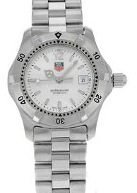 TAG Heuer Professional WK1312.BA0313 Stainless Steel Quartz Ladies Watch (ON HOLD)