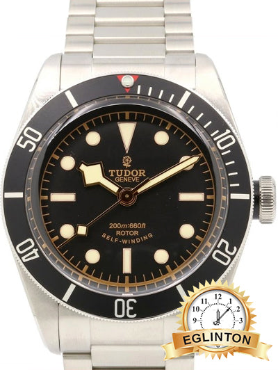 Tudor Heritage Black Bay 79220 Watch with Stainless Steel Bracelet and Stainless Steel Bezel