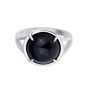 Black Onix Talisman Ring