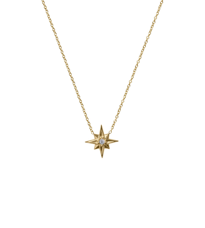 Star Pendant  14KY Gold and Diamond
