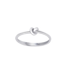 Load image into Gallery viewer, Love Knot Ring | Sterling Silver
