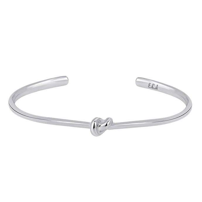 Sterling Silver Love Knot Bracelet - Women   This simple design is handcrafted with Sterling Silver to convey the message of eternal love