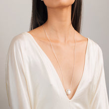 Load image into Gallery viewer, Moon Phase Necklace \ big - long