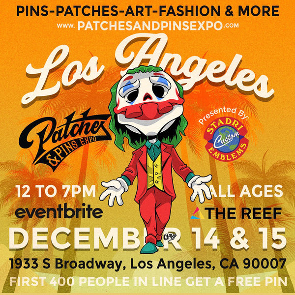 PATCHES AND PINS EXPO - LOS ANGELES
