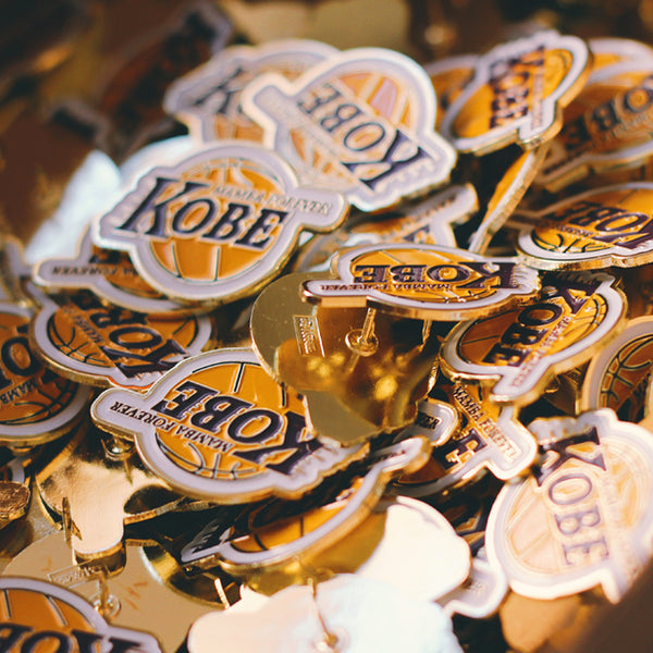 """KOBE"" Tribute Pin"
