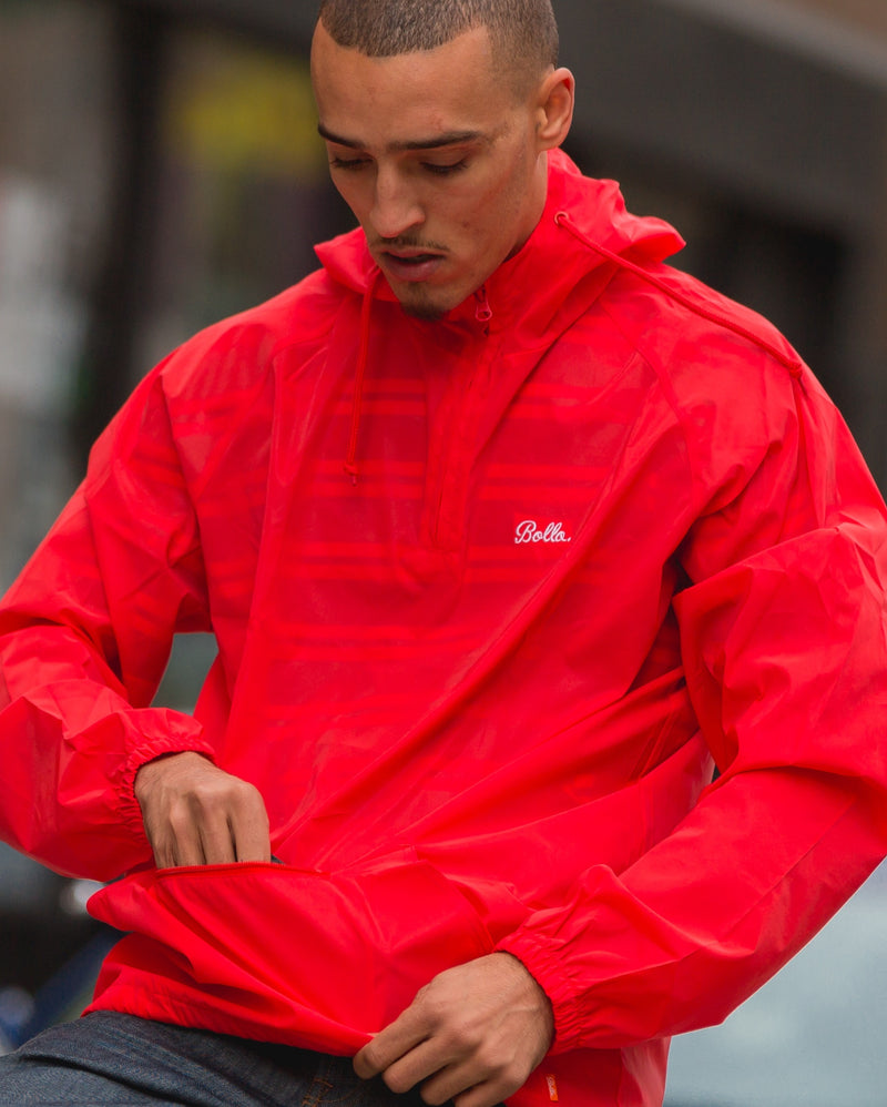 MOTION REFLECTIVE ANORAK JACKET - RED