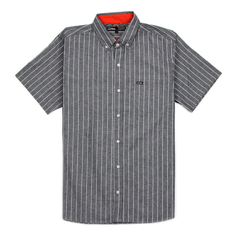 ALLEY S/S SHIRT - BLACK