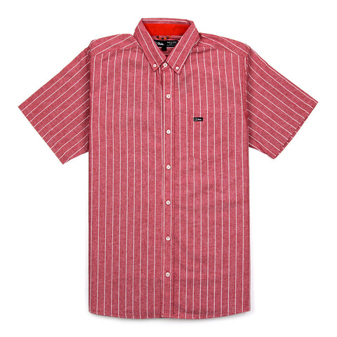 ALLEY S/S SHIRT - RED