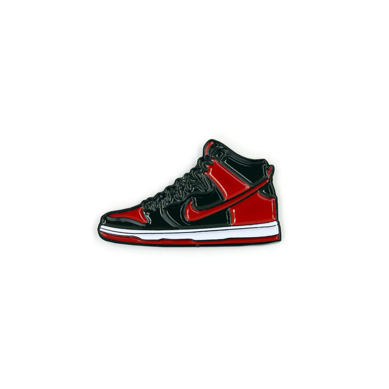 BRED PIN - RED