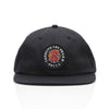 BLOOM POLO HAT - BLACK