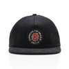 BLOOM SNAPBACK HAT - BLACK