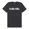 BOLLA KILLS T-SHIRT - CHARCOAL HEATHER