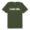 BOLLA KILLS T-SHIRT - OLIVE