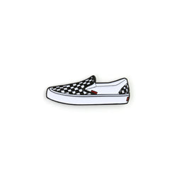 CHECKER PIN - WHITE