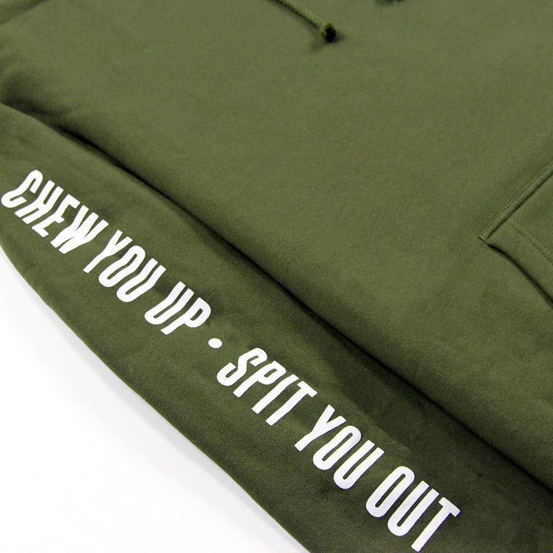 CITY PULLOVER HOODIE - OLIVE