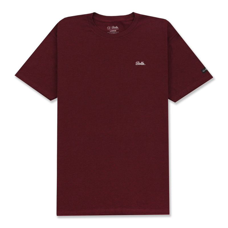 CITY T-SHIRT - BURGUNDY