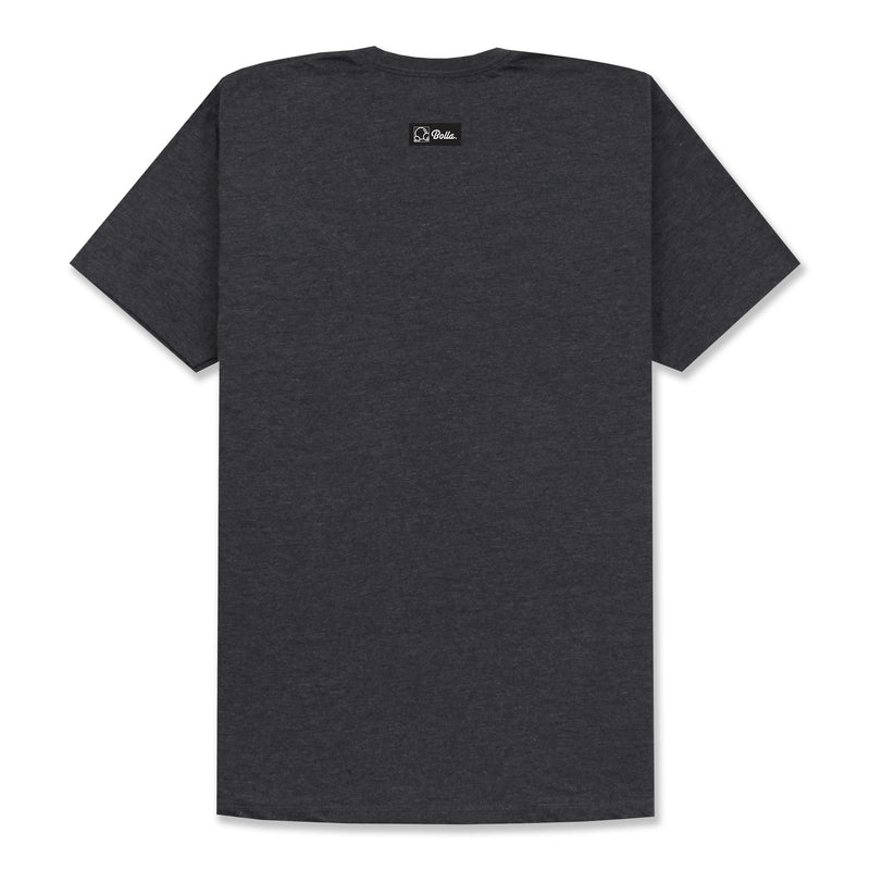 COOPER T-SHIRT - CHARCOAL HEATHER