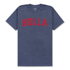 COOPER T-SHIRT - NAVY HEATHER