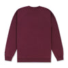 DAILY CREWNECK - BURGUNDY