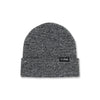 DAILY FOLD BEANIE - BLACK/WHITE SPECKLE