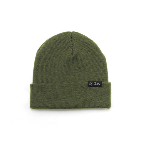 DAILY FOLD BEANIE - OLIVE