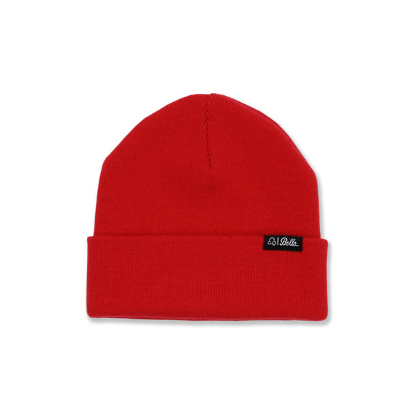 DAILY FOLD BEANIE - RED
