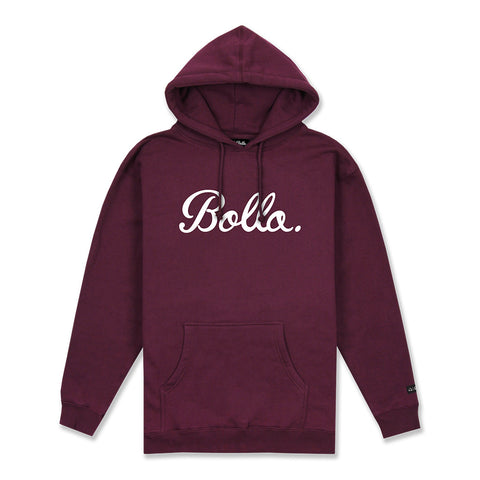 DAILY PULLOVER HOODIE - BURGUNDY