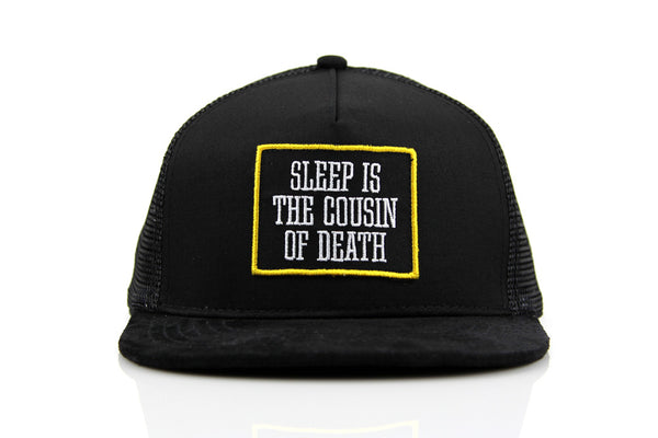 DEATH TRUCKER HAT - BLACK