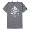 DOWNTOWN T-SHIRT - HEATHER GREY