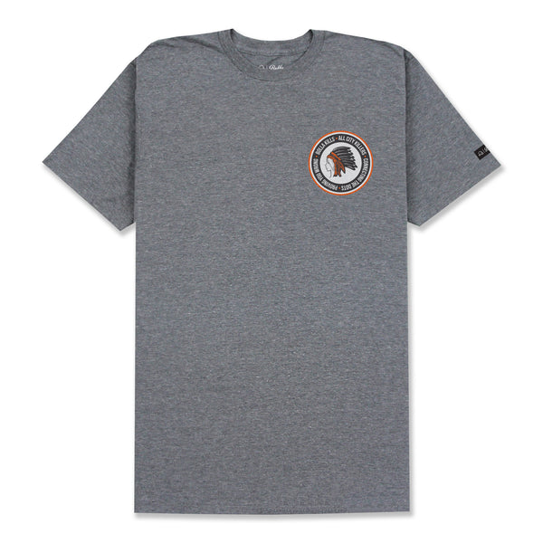 DREAMER CREST T-SHIRT - HEATHER GREY
