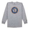 EMBLEM L/S SHIRT - ATHLETIC HEATHER