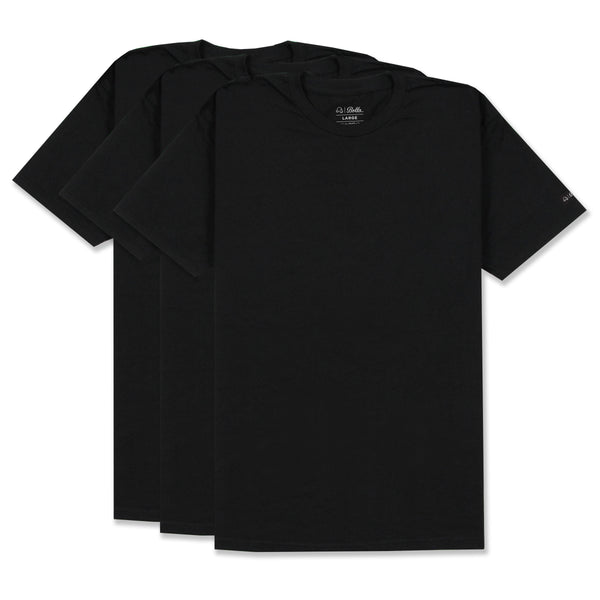 EVERYDAY 3-PACK T-SHIRT - BLACK