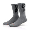 EVERYDAY CREW SOCK - HEATHER GREY