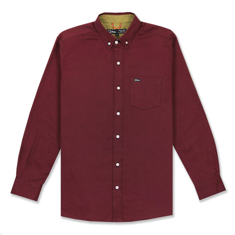 EVERYDAY L/S SHIRT - BURGUNDY