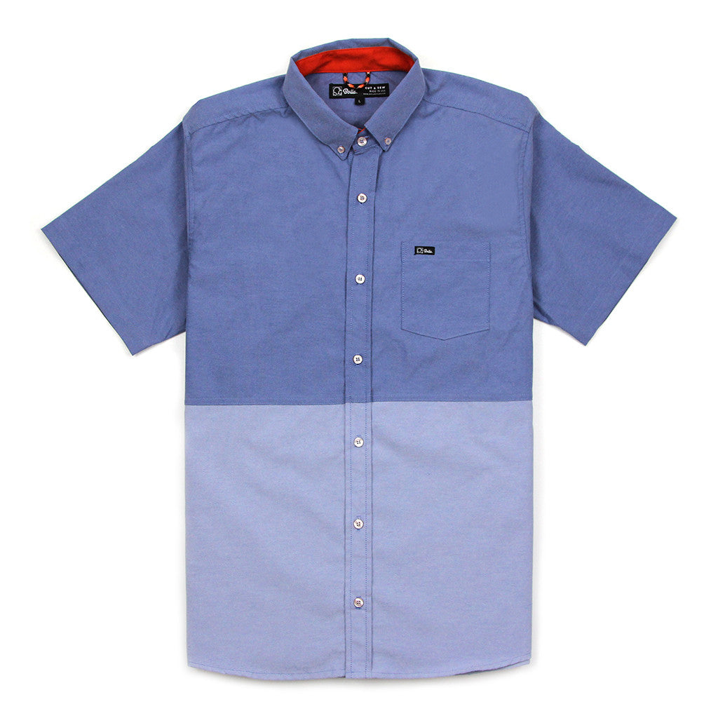 Everyday Ss Two Tone Shirt Blue Bolla
