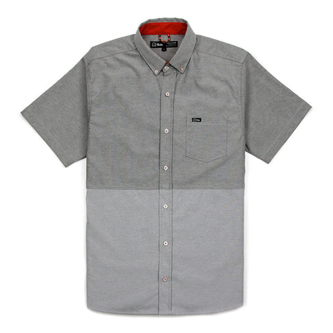 EVERYDAY S/S (TWO-TONE) SHIRT - GREY
