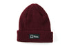 EVERYDAY FOLD BEANIE - BURGUNDY