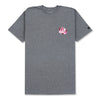 INSIGNIA BLOSSOM T-SHIRT - HEATHER GREY