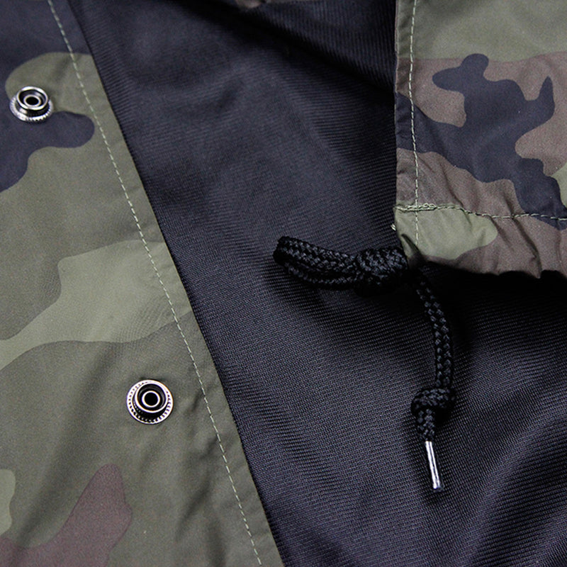 INSIGNIA COACHES JACKET - FOREST CAMO