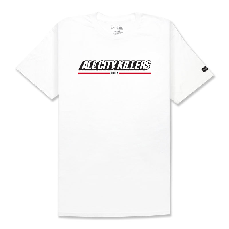 NEWSSTAND T-SHIRT - WHITE