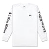 OLD ACK L/S SHIRT - WHITE