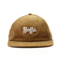RETRO POLO HAT - LIGHT BROWN