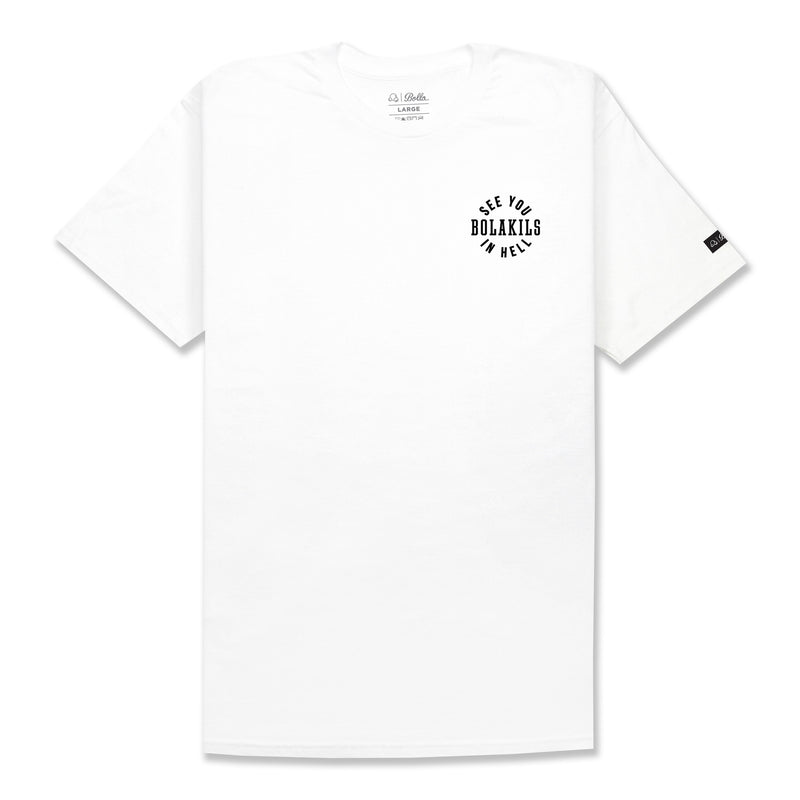 SEE YOU T-SHIRT - WHITE