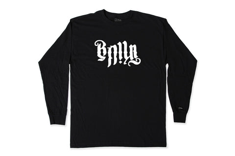 UNDERWORLD L/S SHIRT - BLACK